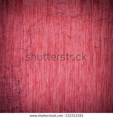 old, grunge background texture in red. Dark edged
