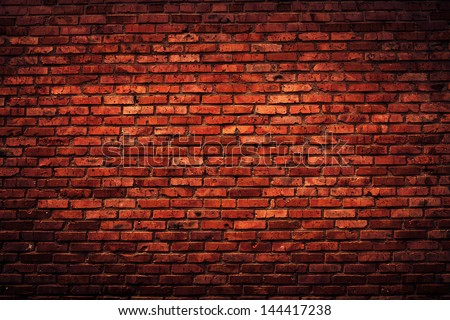 Old grunge brick wall background #144417238
