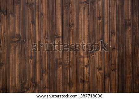 Old grunge dark brown wood plank pattern with beautiful abstract surface, use for texture, background, backdrop or design element