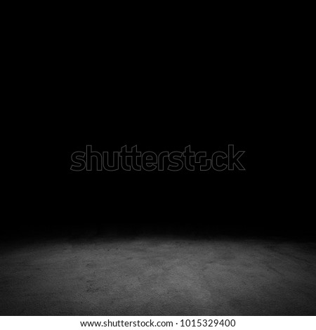 old grunge dark room - Shutterstock ID 1015329400