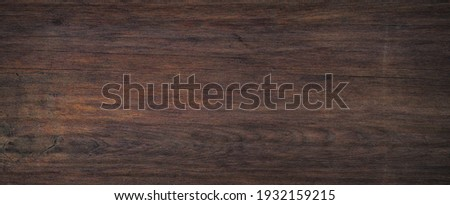 Old grunge dark textured wooden background,The surface of the brown wood texture.