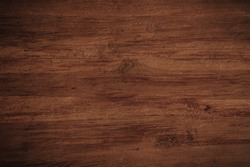 Old grunge dark textured wooden background,The surface of the old brown wood texture