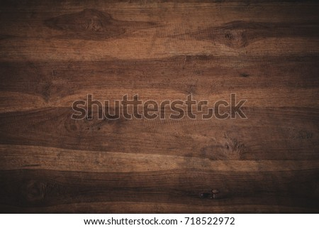 Old grunge dark textured wooden background,The surface of the old brown wood texture #718522972