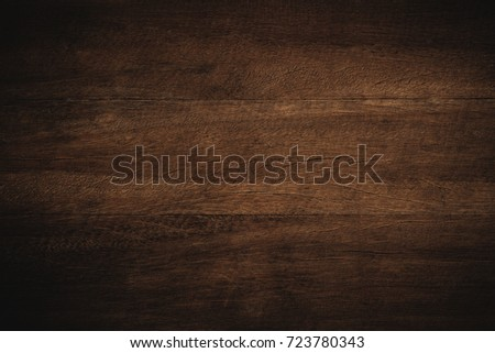 Old grunge dark textured wooden background,The surface of the old brown wood texture #723780343