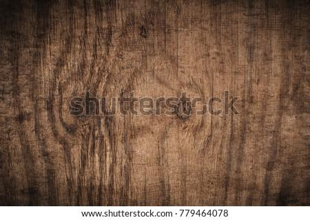 old grunge dark textured wooden ...