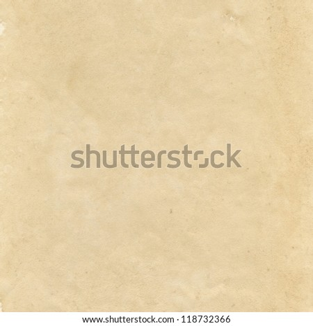 Old grunge sheet of paper texture