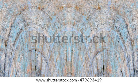 Old grunge vintage weathered background abstract antique texture with retro pattern. 16:9 aspect ratio #479693419