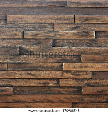 Old Grunge Vintage Wood Panels Background  #170988548