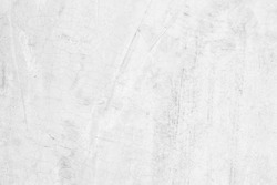 Old grunge white cement wall texture for background