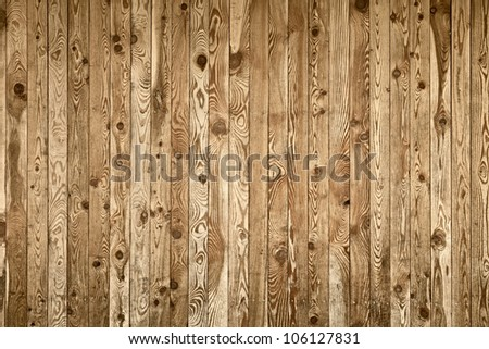 Old grunge wood panels - background horizontal