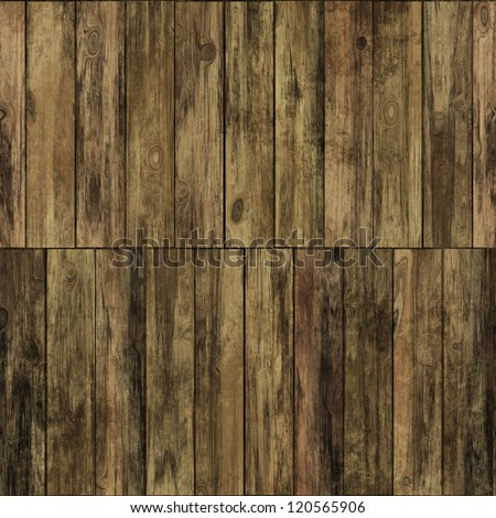 Old grunge wood panels seamless  background or texture