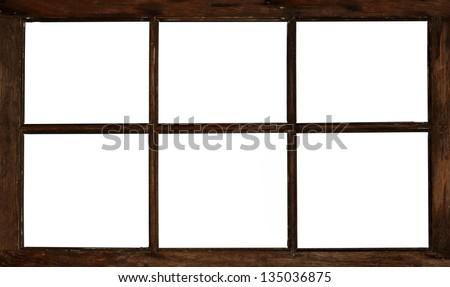 Free White Wooden Window Frame #47402 Stock Photo   Avopix.com