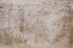 Old grungy concrete wall texture background. Copy space for interior vintage background and space for text.
