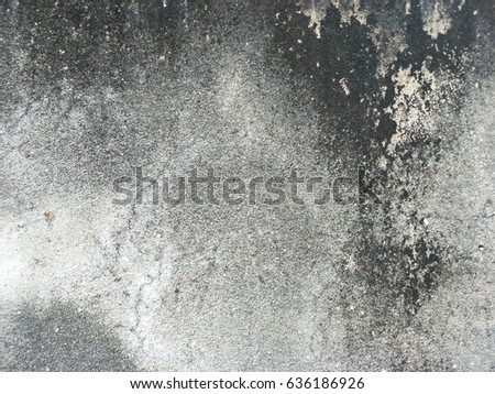 old grungy texture, grey concrete wall #636186926