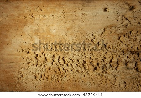 Old grungy wood background - stock photo