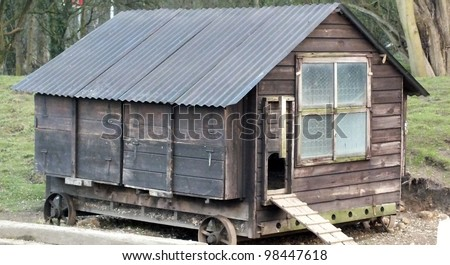 http://image.shutterstock.com/display_pic_with_logo/952678/98447618/stock-photo-old-hen-house-on-wheels-98447618.jpg