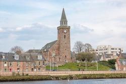 Old High St Stephen's (Old High Church) Inverness (Inbhir Nis) at Loch Ness Highlands Scotland