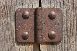 Old Hinge with screws.