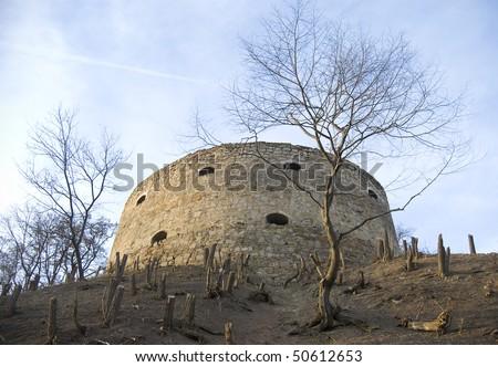 Old historical bastille fortification