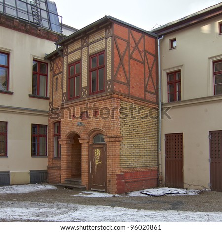 Old house entrance, Berlin, Germany
