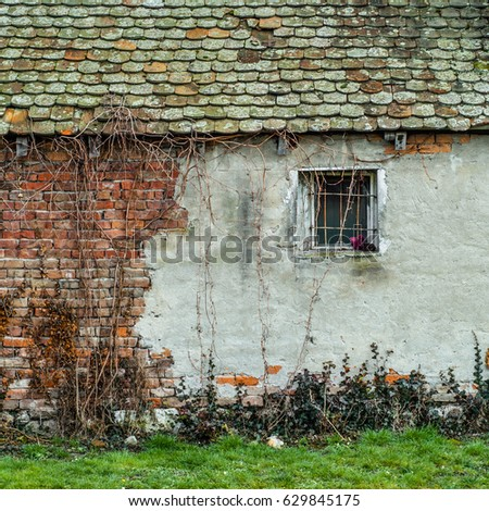 Old house exterior. #629845175
