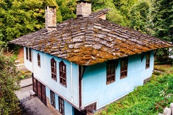 old house from the 19th century in Bulgaria Etar village in Gabrovo province