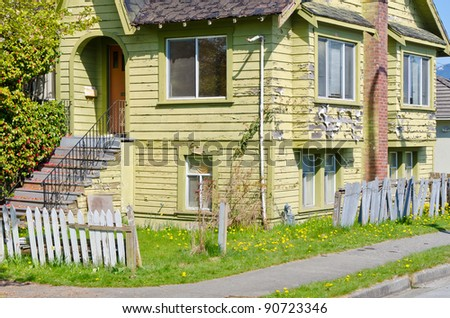Old House in Disrepair
