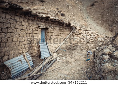 Old house in Iraqi countryside