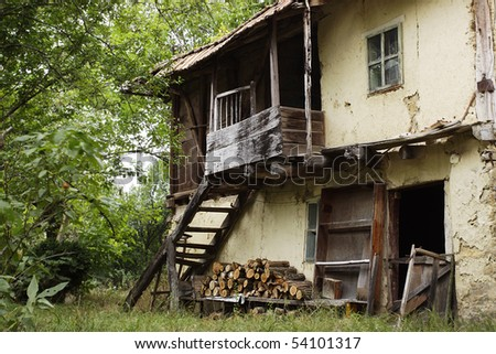 Old house in old bulgarian village