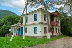 old house of tsarist Russia in the Karachay Cherkess Republic