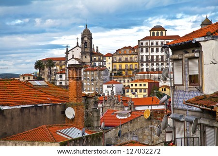 old houses in Porto / Portugal