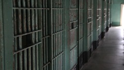 Old Idaho State Penitentiary Cell Blocks and Bars