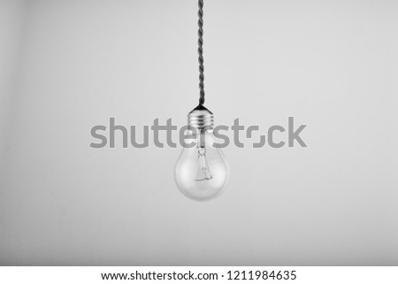 old incandescent lamp