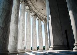 Old Ionic Columns