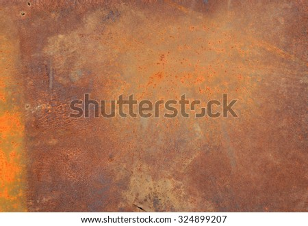 Old iron sheets rusty metal background