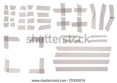 Old japanese pattern masking tape for design.