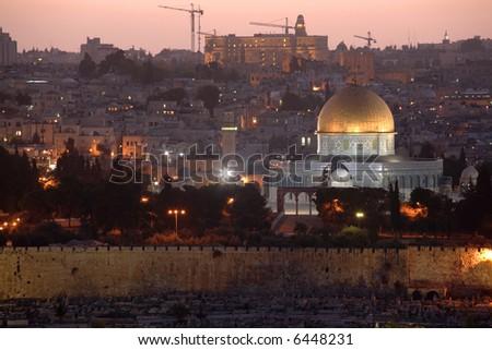 Old Jerusalem & Dome of the Rock