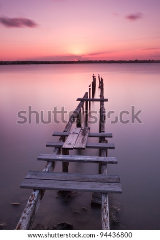 Old Jetty at Cleveland, Queensland