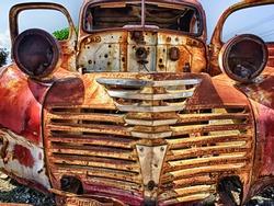 Old Junk Car beyond reparation