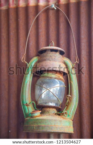 Old lanterns are provided for brightness to decorate and to accumulate. #1213504627