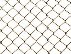 Old lattice isolated on white