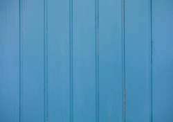 Old light blue colour wood wall for seamless wood background and texture.