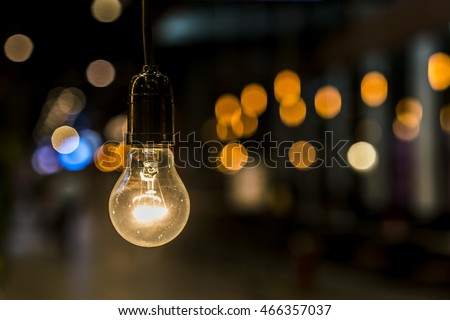 Old light bulb #466357037