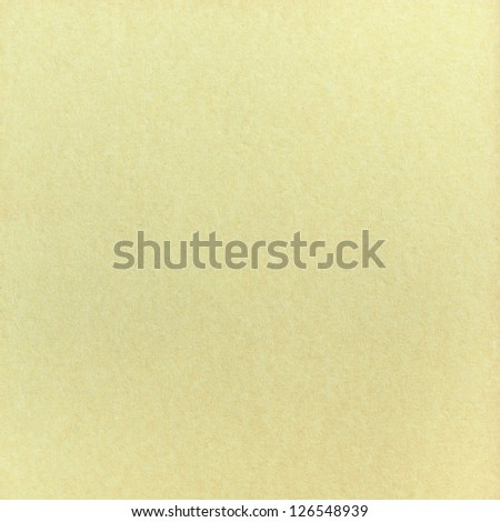 Old light creamy paper background - stock photo
