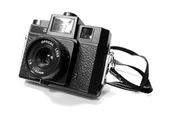 Old lomo russian camera (holga)