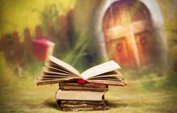 Old, magic, fairytale book