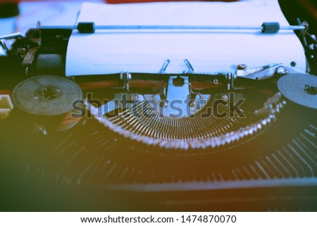 Old Manual Typewriters, the typewriter was a widely used device in previous years before the arrival of advanced electronics and computers. Ilove vintage #1474870070