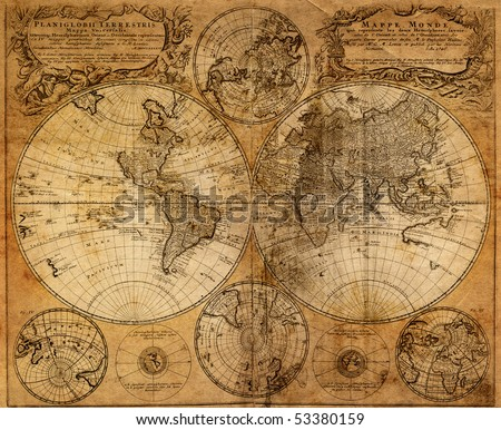 Old map(1746) #53380159
