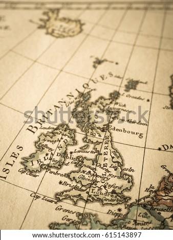 Free photos antique world map london avopix old map of the trench uk 615143897 gumiabroncs Choice Image