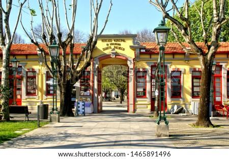 Old market in Vila do Conde, Portugal #1465891496